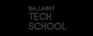 Ballarat Tech School logo with a transparent background
