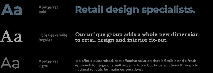 Graphcad typography design
